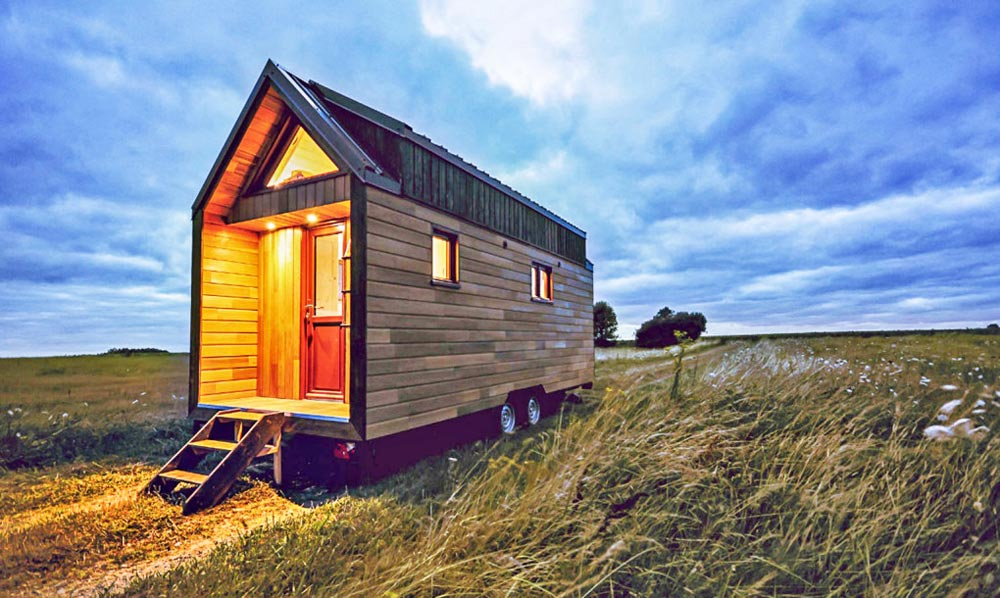 217 sq.ft. Tiny House - Odyssee by Baluchon