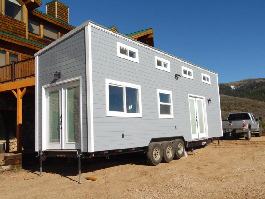 French Doors - Park City by Upper Valley Tiny Homes