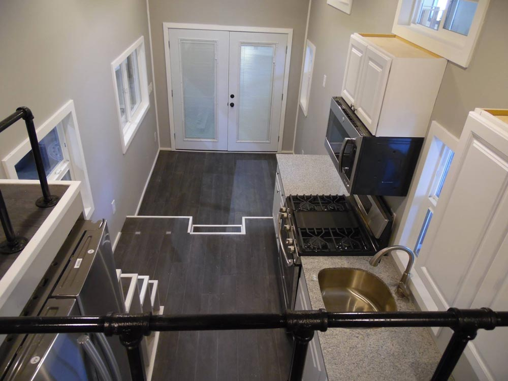 Aerial Interior View - Park City by Upper Valley Tiny Homes
