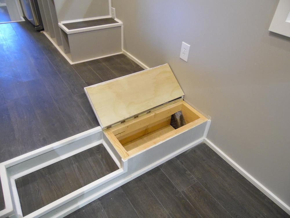 Stair Storage - Park City by Upper Valley Tiny Homes