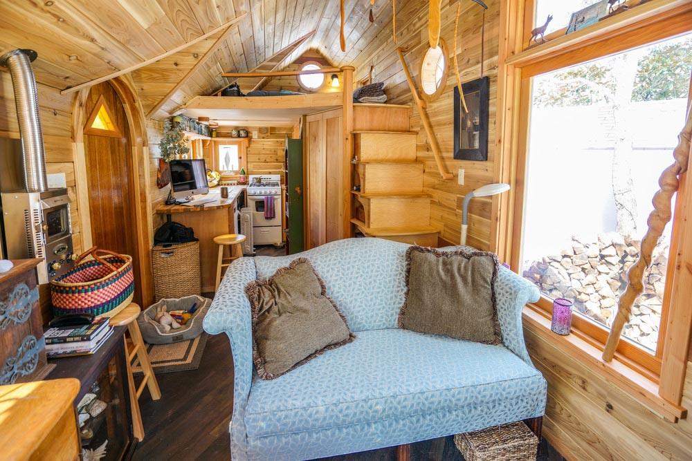 Tiny House Interior - Pinafore by Zyl Vardos