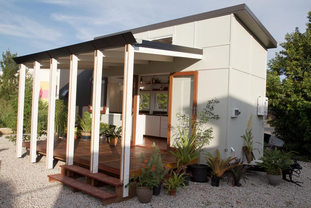 Tiny house portal by the tiny house company