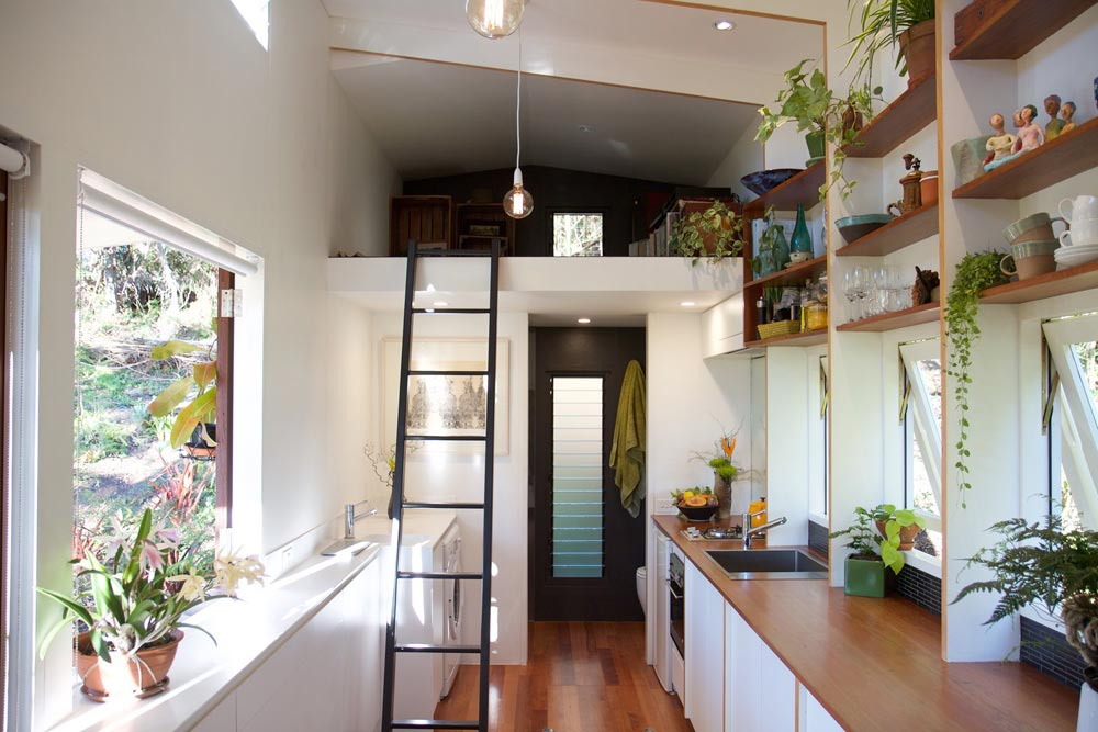 Interior View - Portal by The Tiny House Company