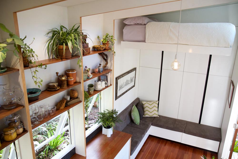 Kitchen Shelving - Portal by The Tiny House Company