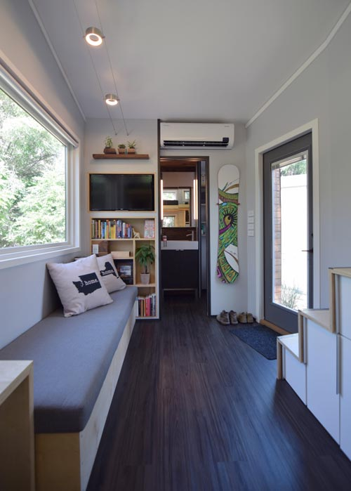 Living Room - SHEDsistence Tiny House
