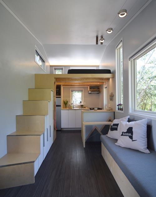 Tiny House Interior - SHEDsistence Tiny House