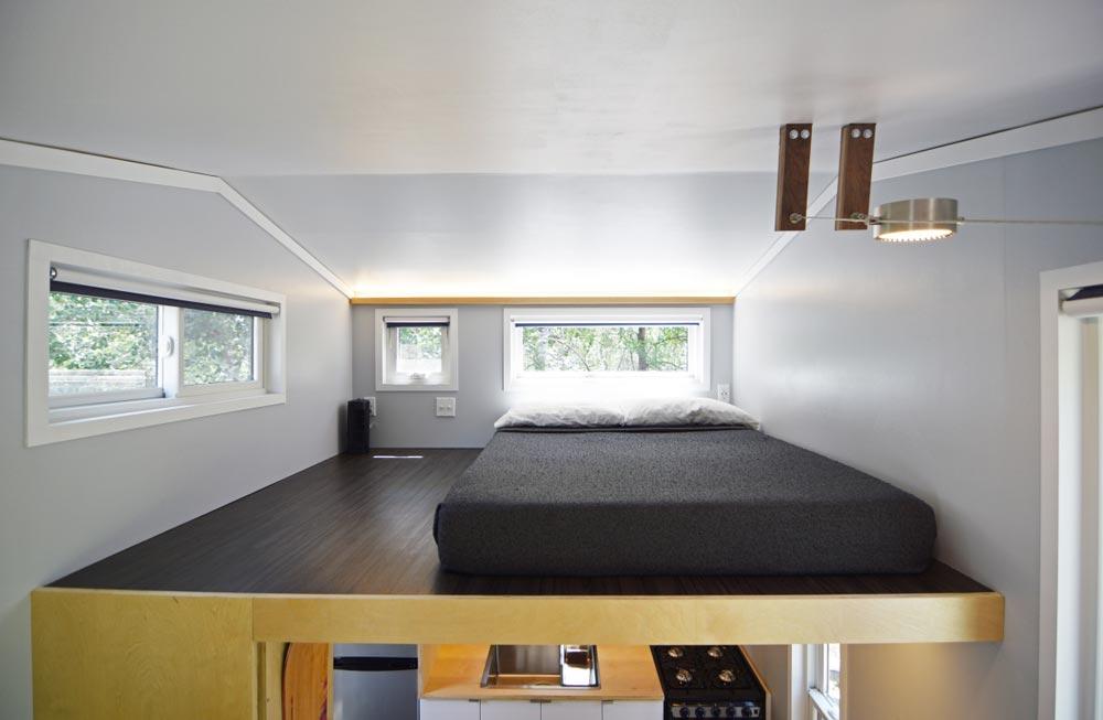 Bedroom Loft - SHEDsistence Tiny House