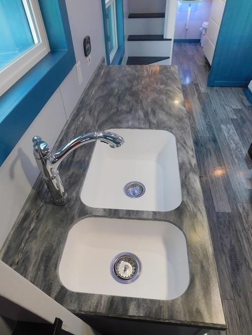 Corian Bedford Marble Countertop - French Storyteller by Tiny Idahomes
