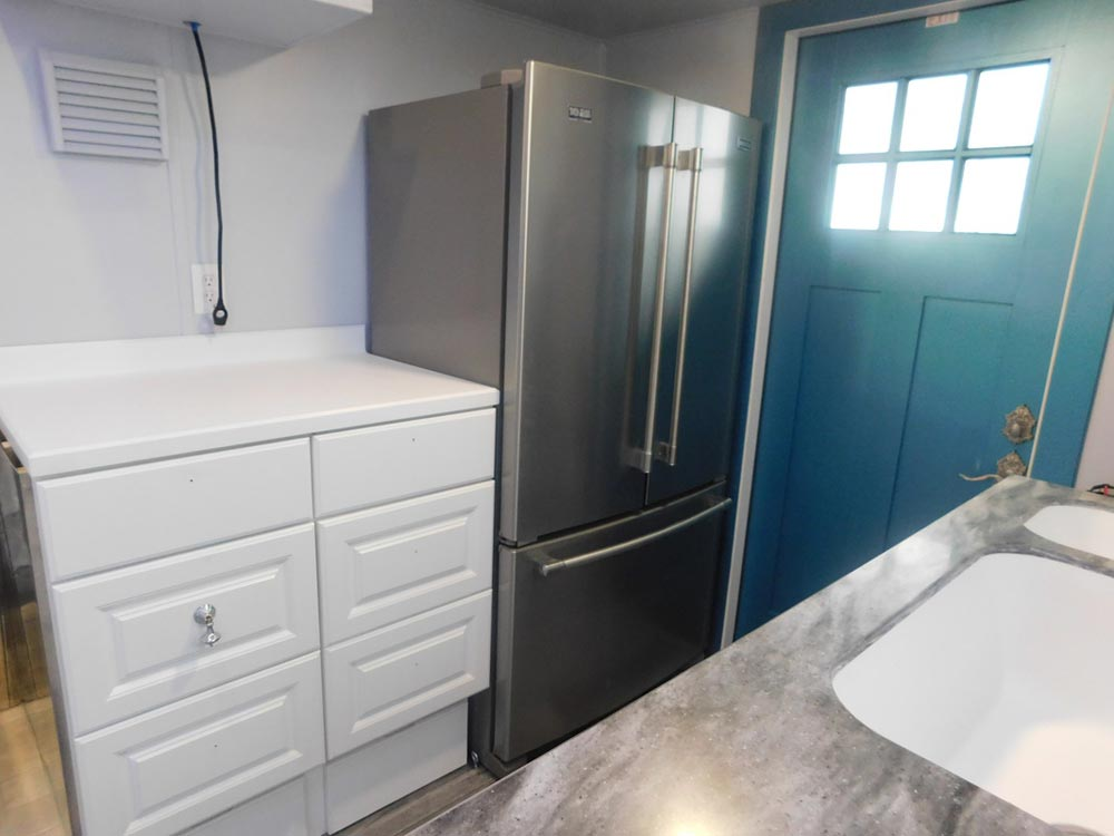 Side-by-Side Refrigerator - French Storyteller by Tiny Idahomes