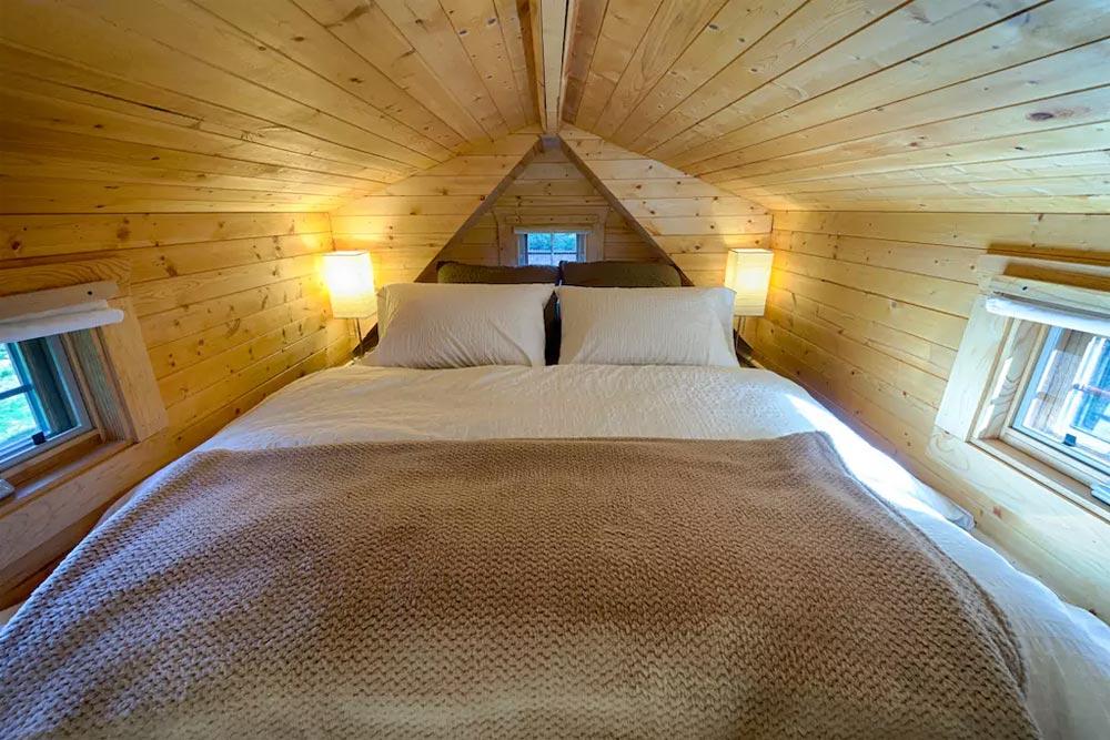 Bedroom Loft - Tiny Tack House