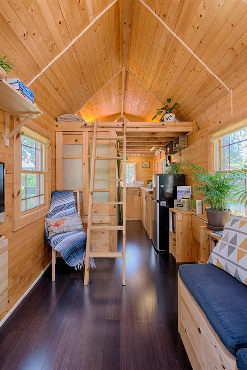 Tiny House Interior - Tiny Tack House