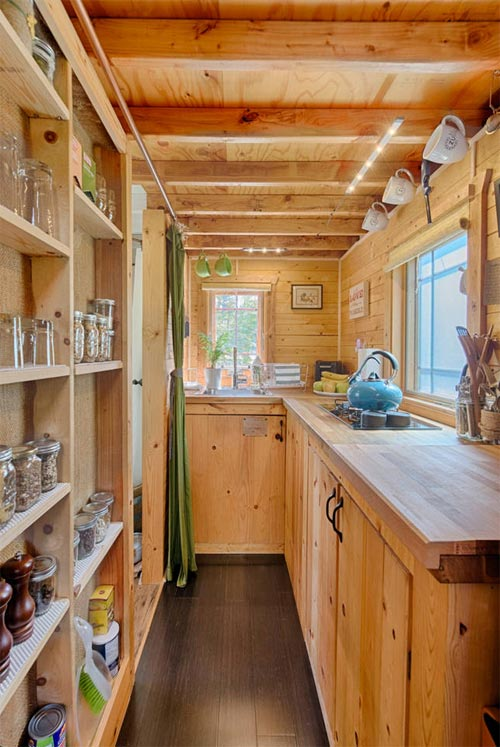 Kitchen Shelving - Tiny Tack House