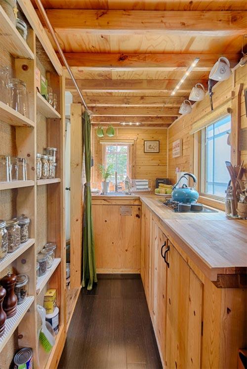 Kitchen Shelving - Tiny Tack House