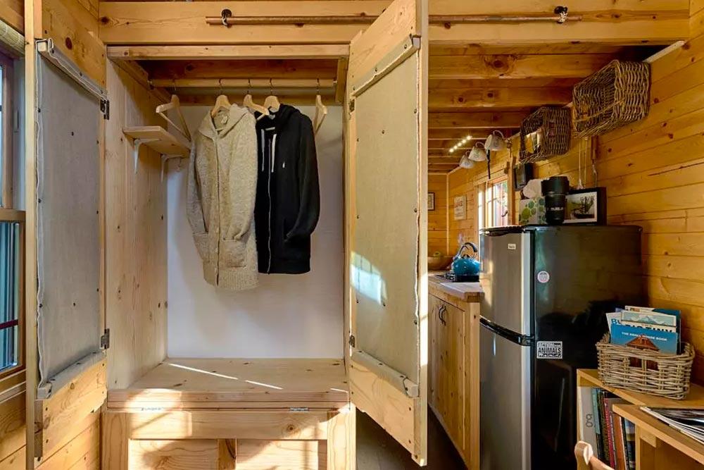 Clothing Storage - Tiny Tack House