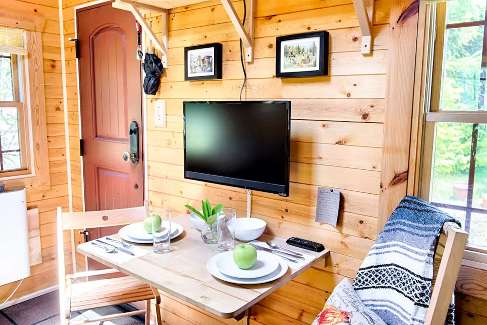 Foldable Desk - Tiny Tack House
