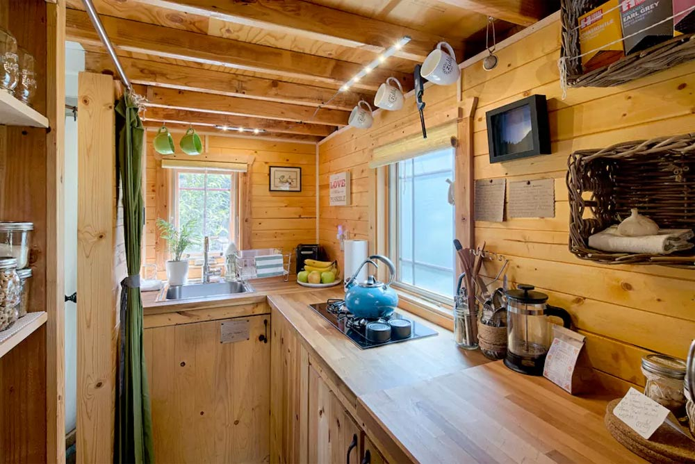 Kitchen - Tiny Tack House