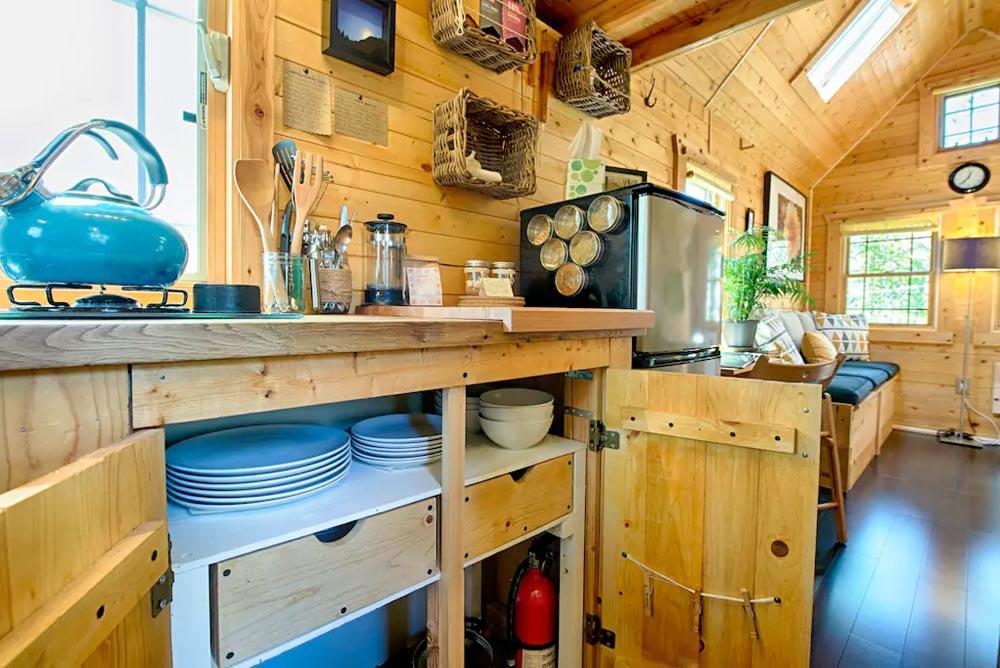 Kitchen Cabinets - Tiny Tack House