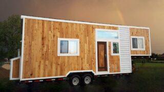 250 sq.ft. Gooseneck Tiny House - Terraform One by Terraform Tiny Homes
