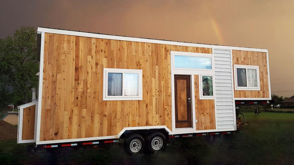 250 sq.ft. Gooseneck Tiny House - Terraform One by Terraform Tiny Homes