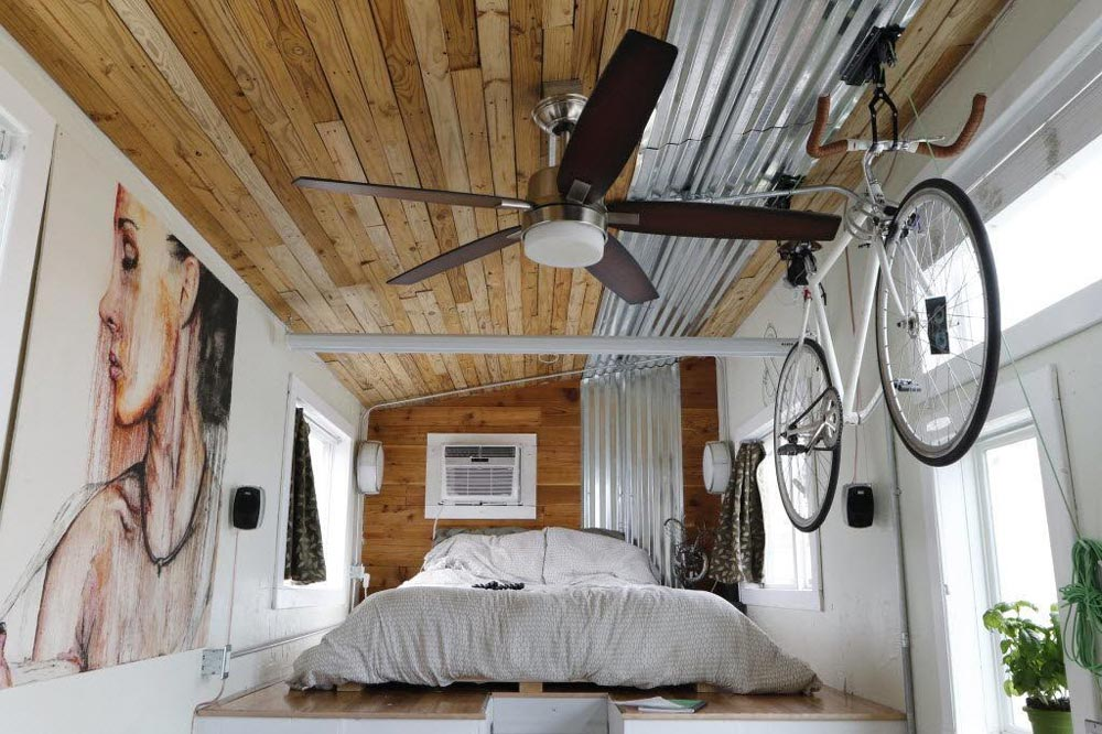 "6'4"" Bedroom Loft - Terraform One by Terraform Tiny Homes"