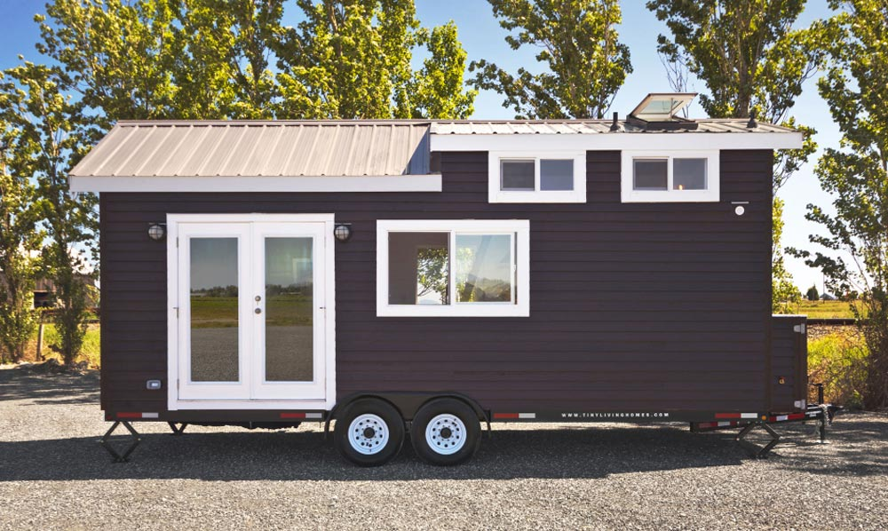 French Doors - Just Wahls Tiny House