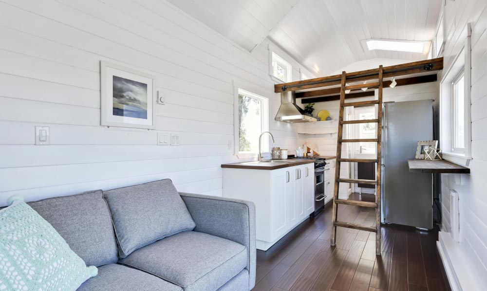 Living Area - Just Wahls Tiny House