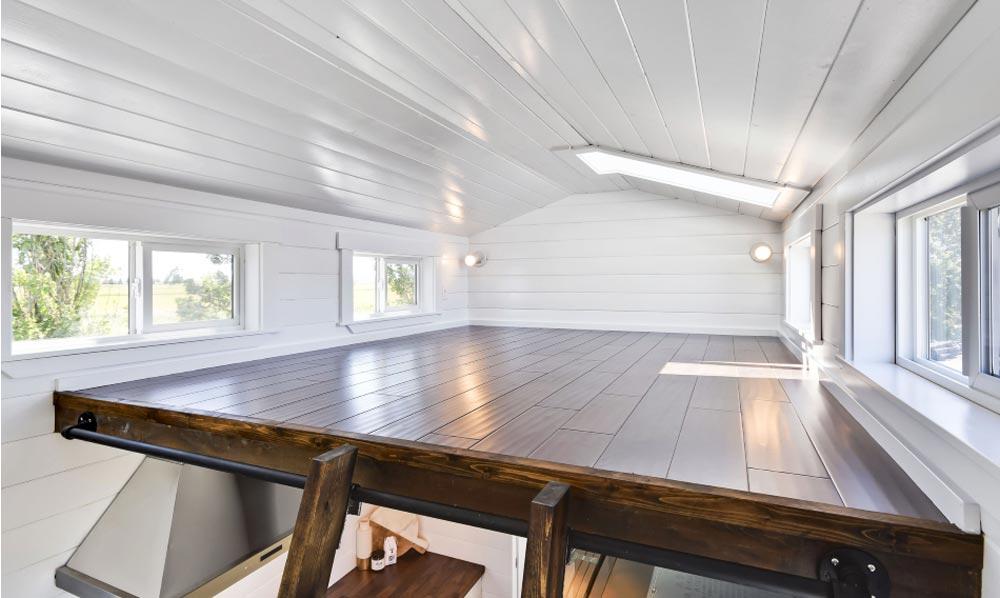 Bedroom Loft - Just Wahls Tiny House