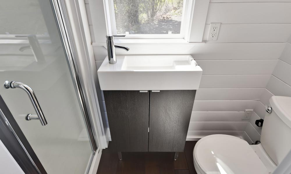 Bathroom Sink - Just Wahls Tiny House
