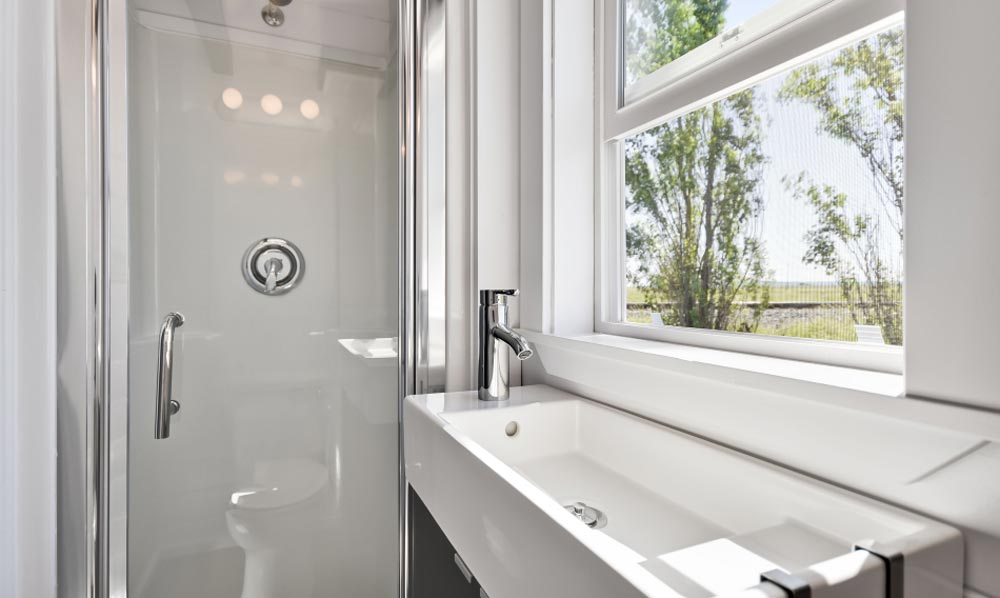 Bathroom - Just Wahls Tiny House