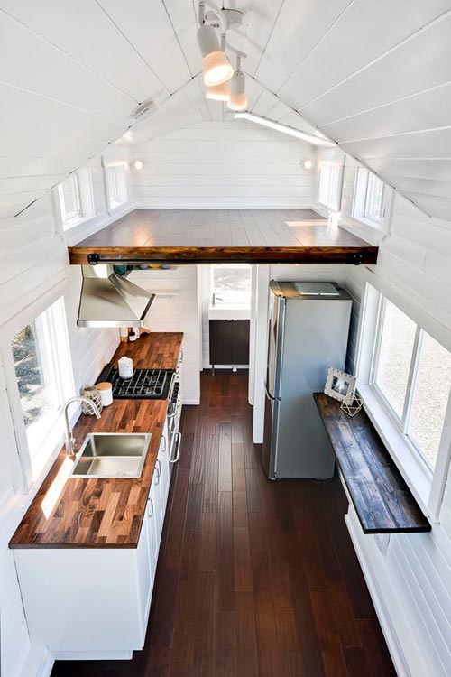 Interior View - Just Wahls Tiny House