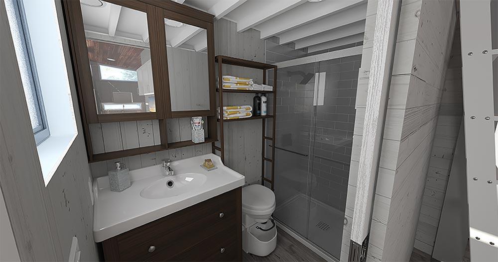 Bathroom - Aurora by ZeroSquared