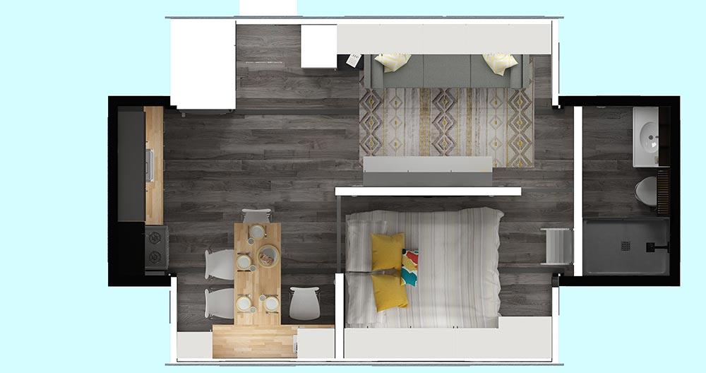 Nomad Tiny Homes >> Aurora by ZeroSquared - Tiny Living