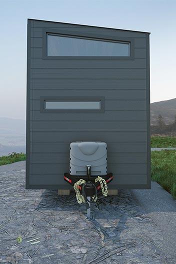 Tiny House Exterior - Aurora by ZeroSquared