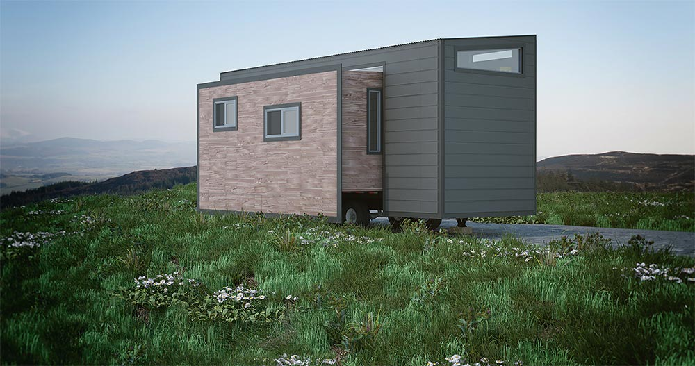 Tiny House Slide Outs - Aurora by ZeroSquared