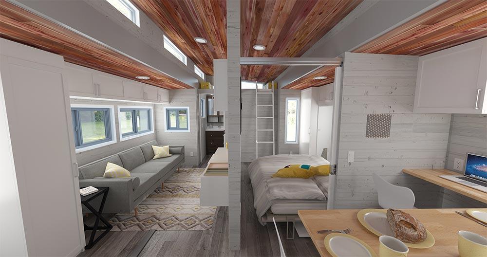 Interior View From Kitchen - Aurora by ZeroSquared