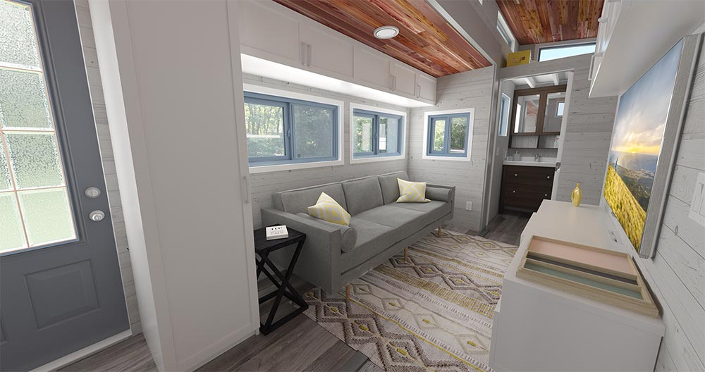 Living Area - Aurora by ZeroSquared
