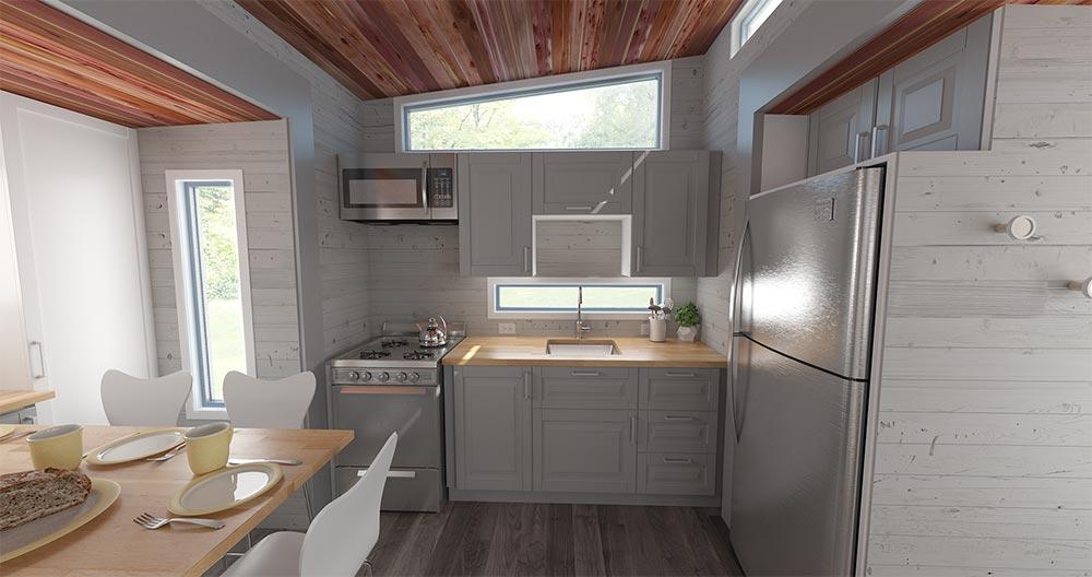 Kitchen - Aurora by ZeroSquared