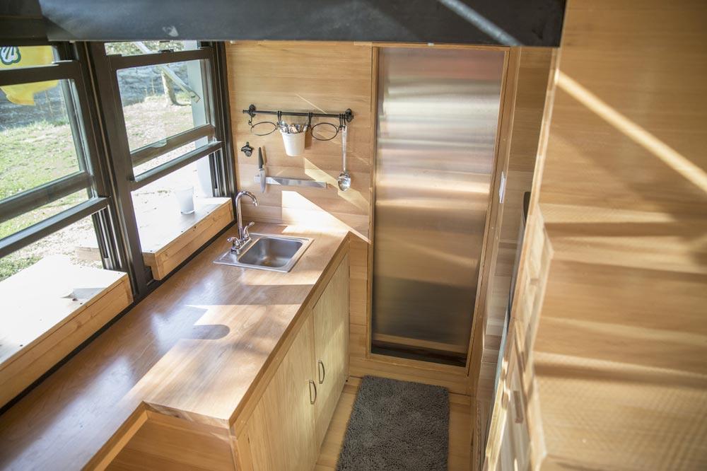 Kitchen - Atlas Tiny House