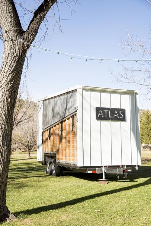 Fold Down Deck - Atlas Tiny House