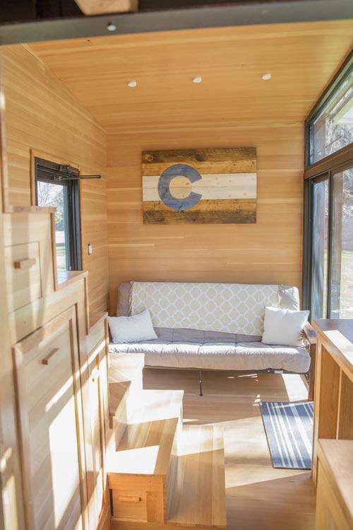 Living Area - Atlas Tiny House