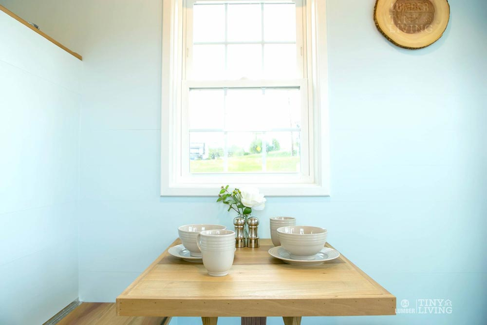 Folding Dining Table - Blue Shonsie by 84 Lumber