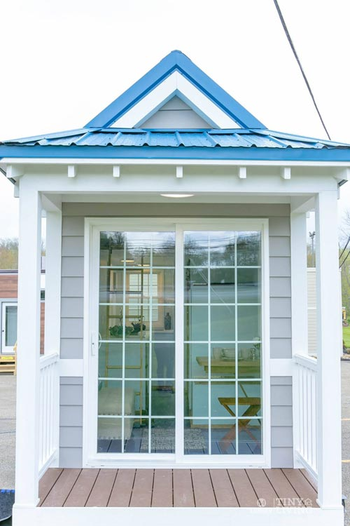 Sliding Glass Door - Blue Shonsie by 84 Lumber