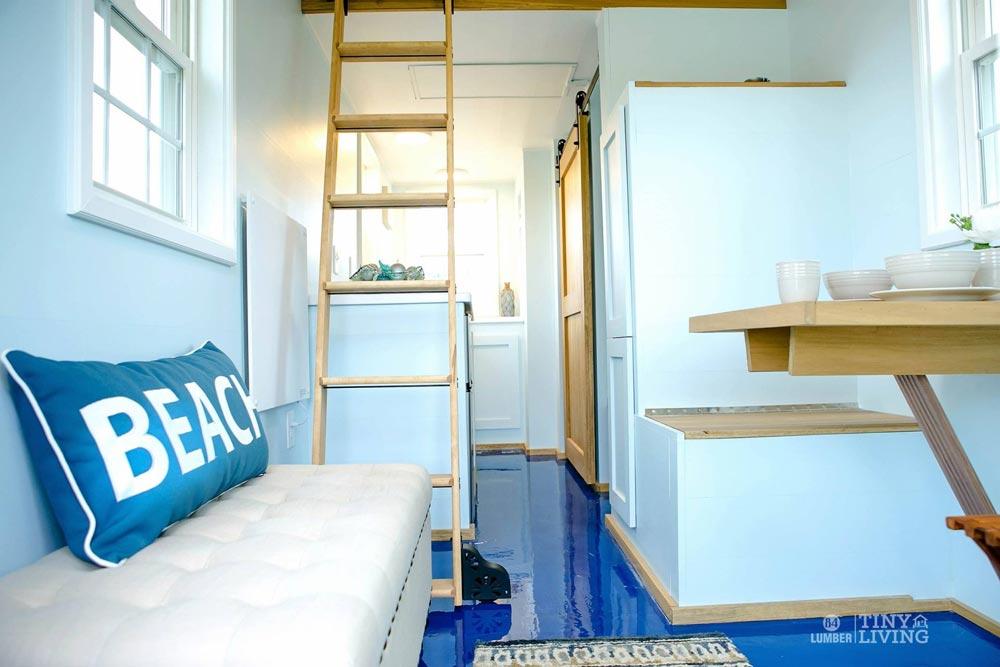 Blue Epoxy Floor - Blue Shonsie by 84 Lumber