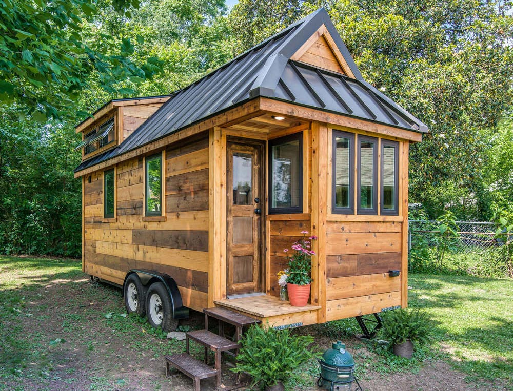 cedar mountain by new frontier tiny homes tiny living. Black Bedroom Furniture Sets. Home Design Ideas