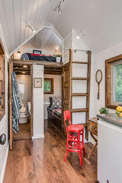 Living Area - Cedar Mountain by New Frontier Tiny Homes
