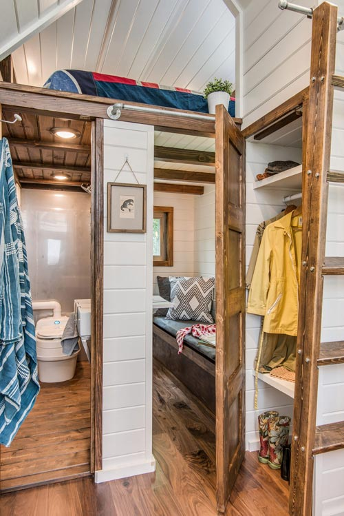Closet - Cedar Mountain by New Frontier Tiny Homes