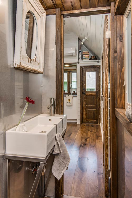 Bathroom Sink - Cedar Mountain by New Frontier Tiny Homes