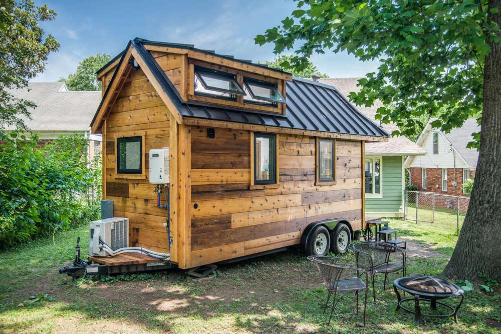 Cabin Style Tiny House - Cedar Mountain by New Frontier Tiny Homes