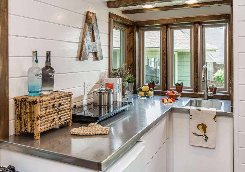Kitchen - Cedar Mountain by New Frontier Tiny Homes