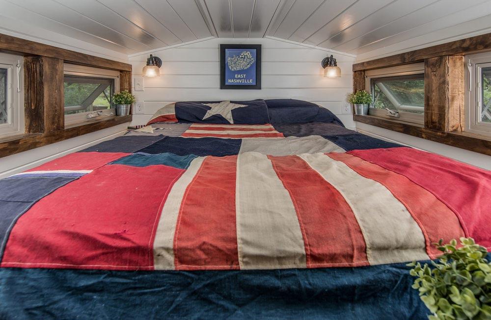 Bedroom Loft - Cedar Mountain by New Frontier Tiny Homes